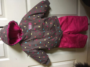 Good quality girls snowsuit