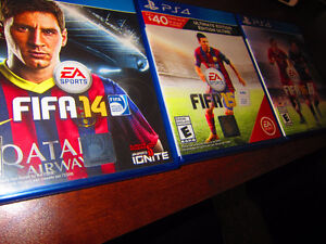 FIFA 16 • FIFA 15 • FIFA 14 • FOR PS4 ON SALE
