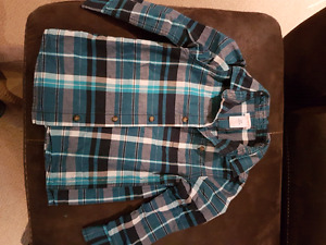 Joe fresh plaid...size 4-5