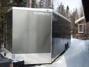 2016 Enclosed Stealth Trailer 21'