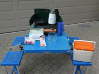 assorted camping, sporting & outdoor items