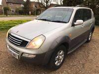 2003 Ssangyong Rexton 2.9TD RX 290 S - 3 F Keepers - New Mot