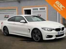 image for 2018 BMW 4 Series 3.0 430D M SPORT 2d 255 BHP Coupe Diesel Automatic