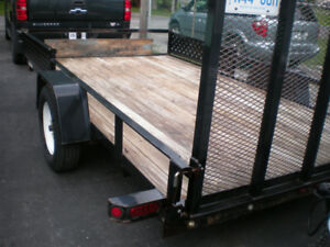SURE TRAC  7X12 FT   UTILITY TRAILER FOR SALE