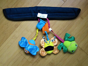 Handmade Toy Strap for Shopping Cart
