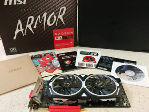 Radeon RX580 8GB MSI Armor OC edition Video Card, Carte Video