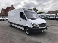 Mercedes-Benz Sprinter 314 3.5T High Roof REFRIDGERATED VAN EURO 6 DIESEL (2018)