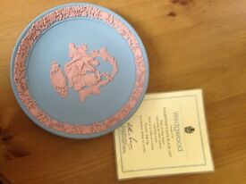 Wedgwood rare limited 1987 valentines plate