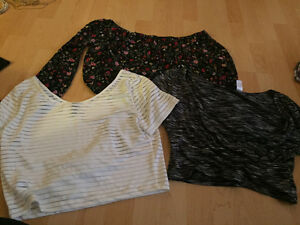 H+M tops size medium/large