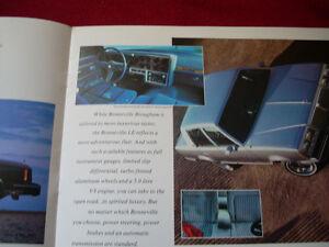 1986 Pontiac sales brochure Peterborough Peterborough Area image 3