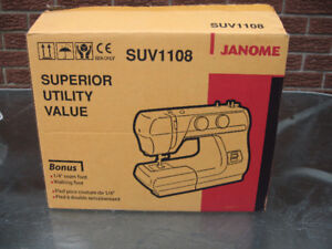 JANOME SEWING MACHINE NEW IN BOX