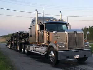 2001 Western Star 4964EX and Cottrell 5309 Car Carrier