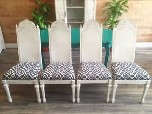 Belle Cane Dining Chairs