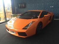 2004 LAMBORGHINI GALLARDO V10 COUPE MANUAL ORANGE COUPE PETROL