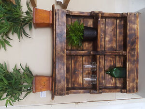 Wall accents shelving