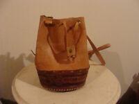 belle sacoche en cuir, fait au Nicaragua