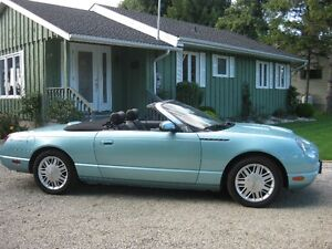 For Sale: 2002 Ford THUNDERBIRD Convertible with Hardtop