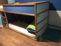 Bunk bed & mattress