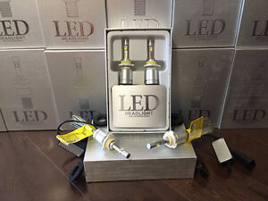 Upgrade to LED Headlight from HID Kit - All Sizes - Free Shippin