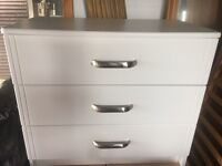 CHEAP 3 DRAWER BEDROOM UNIT