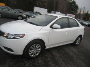 2013 Kia Forte LX Plus 96KM LOW KM CERTIFIED-WARRANTY