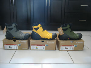 Hi-Tec Para Walking Boots waterproof  yellow grey green