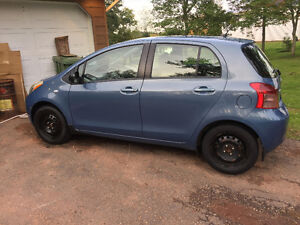 Used, 2008 Toyota Yaris, Blue Hatchback