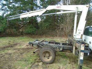 IMT 5200 series 8300 lb hydraulic truck mount crane