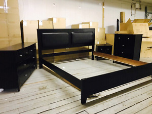 king size 7 pieces bedroom set brand new in box only for $849