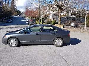 2009 Honda Civic DX Charcoal Grey Sedan Low Kilometers One Owner