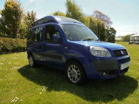 2006 Fiat Doblo 2 Berth Camper Van For Sale