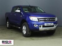 2014 FORD RANGER TDCI 150 LIMITED 4X4 DOUBLE CAB PICK UP DIESEL
