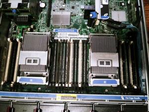 hp blade server 2X Intel Xeon E5-2665 64GB ram