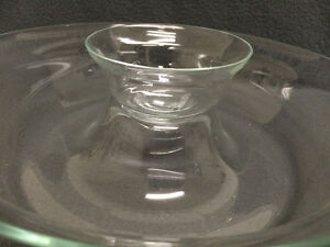 Collectible Antique Large Glass Party Chip & Dip Bowls London Ontario image 3