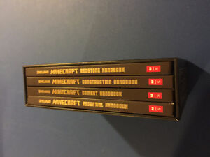 Minecraft books set of 4 mint condition