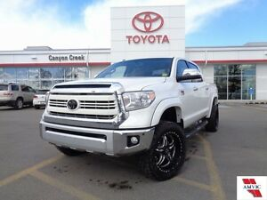 2015 Toyota Tundra 1794 LIFTED & LOADED CLEAN CARPROOF CREWMAX