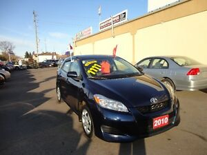 2010 Toyota Matrix XR WagonE-TESTED & CERT