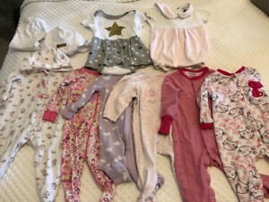 Baby girl clothing lot 6-9 months