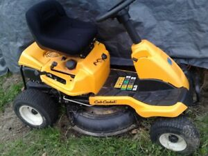 30 inch Club Cadet ride on mower