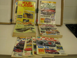 Your Classic back issues:  British Car Tech trove--23 issues