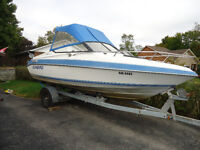 20' I/O Boat and Trailer