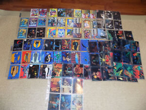 1993 TOPPS, BATMAN THE ANIMATED SERIES, 100 TRADING CARDS SET