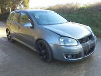 2005 Volkswagen Golf 2.0T FSI ( 200PS ) GTi DAMAGED SPARES OR REPAIR SALVAGE