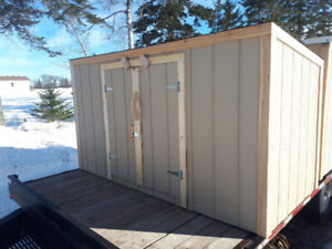 4'x8' Compact storage shed
