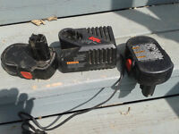 18 volt batteries and charger