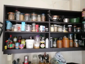 FREE kitchen shelves - collection this weekend!