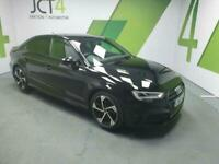2018 Audi A3 1.0 TFSI BLACK EDITION 4d 114 BHP Saloon Petrol Manual