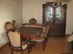 New Dining Table set with China Cabinet