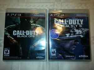 Call of duty Black ops & Ghosts