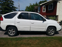 2004 Pontiac Aztek Base with spoiler SUV, Crossover
